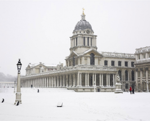 Greenwich University by Mike Curry