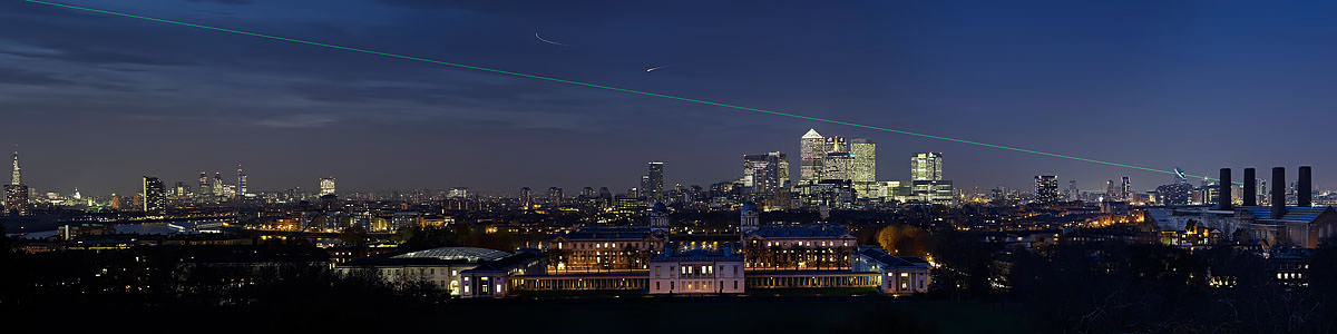 Greenwich Night Pan Laser