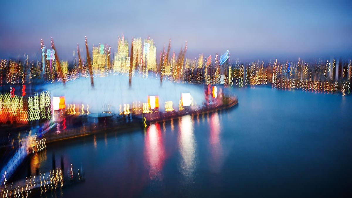 Canary Wharf And O2 II