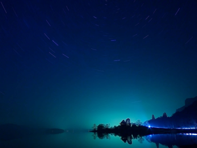 Derwent Water at Night