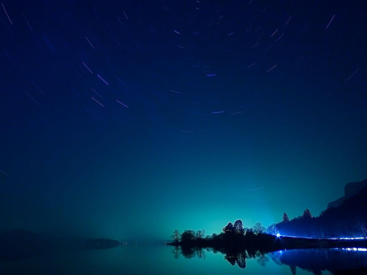 Derwent Water at Night
