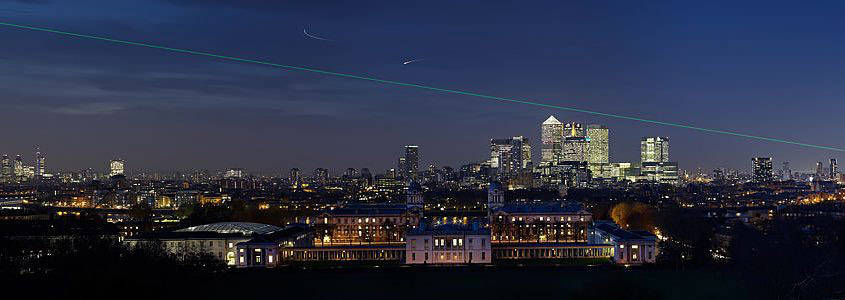 Greenwich Night Panorama